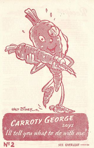 carroty george walt disney ww2