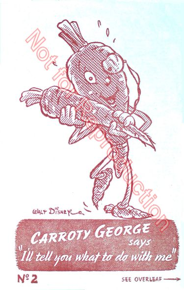 Disney Carroty George WW2