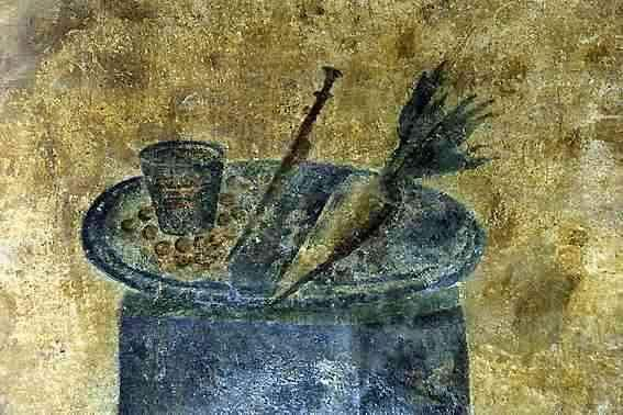 Picture of Roman Wall painting from Tavern in Ostia