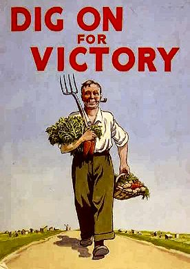 Dig For Victory Poster Carrots