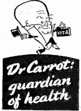dr carrot advert ww2