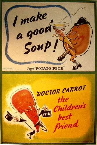 Dr Carrot and Potato Pete Poster
