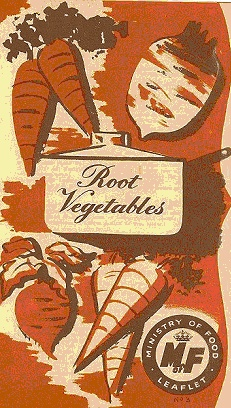 Ministry of food poster -  root vegetables - carrot and beets