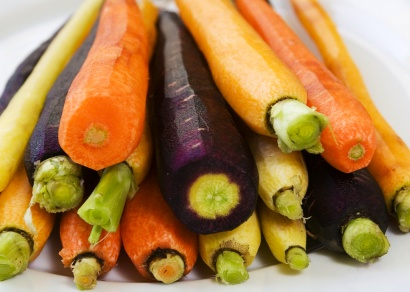 Multi Coloured Carrots