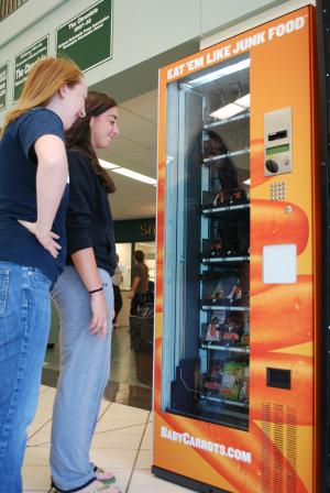 Baby Carrots Vending Machine 2010